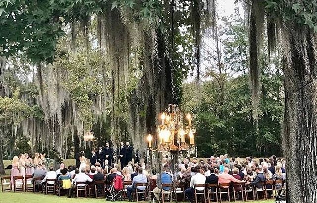 Outdoor weddings are our favorite!