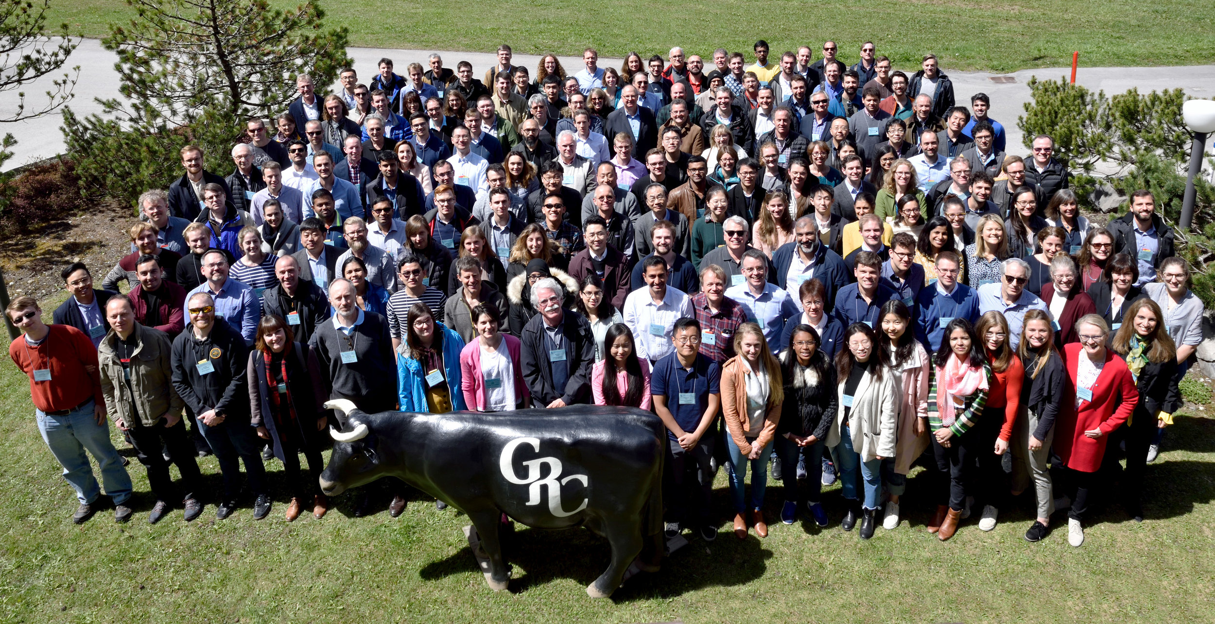 All the attendees of the GRC - CCUS in Les Diablerets, Switzerland.