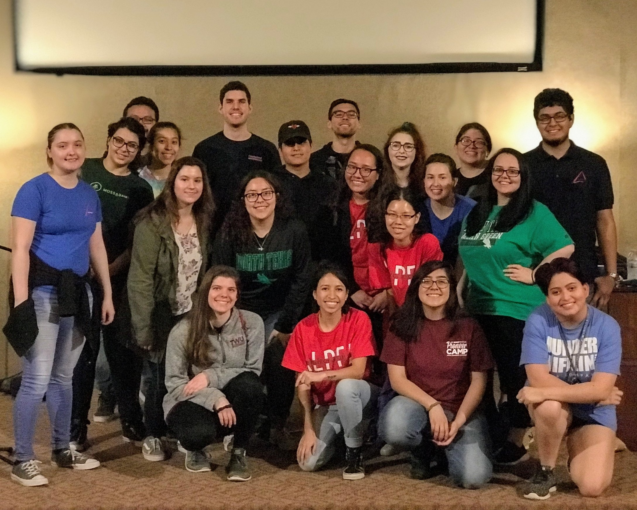 Easter Celebration 2019! - We were excited to have volunteers from UNT ALPHAS, TWU Helping Hands and Celebrate Recovery to help us with our annual Easter egg hunt as well as serve a delicious brunch to our youth and families. Thank you to everyone that graciously donated to our event!