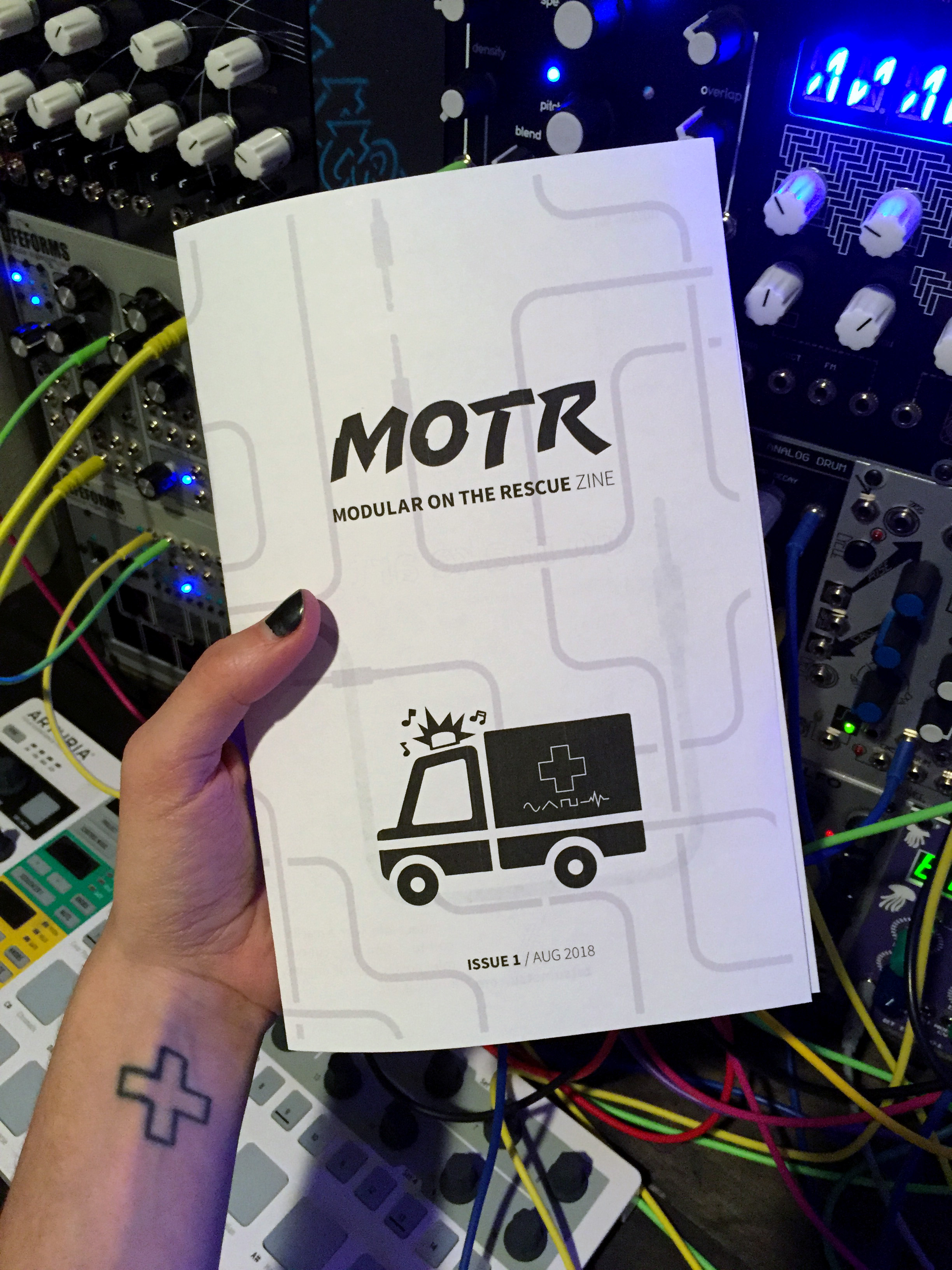 Sign up for our e-newsletter to receive the MOTR zine. -
