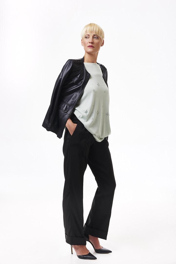 Jeweled+knit,+faille+wide-leg+slacks,+black+leather+jacket,+full+length.jpg