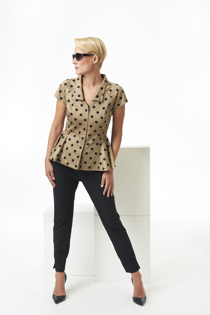 Polka+dot+cap+sleeve+peplum+jacket.jpg