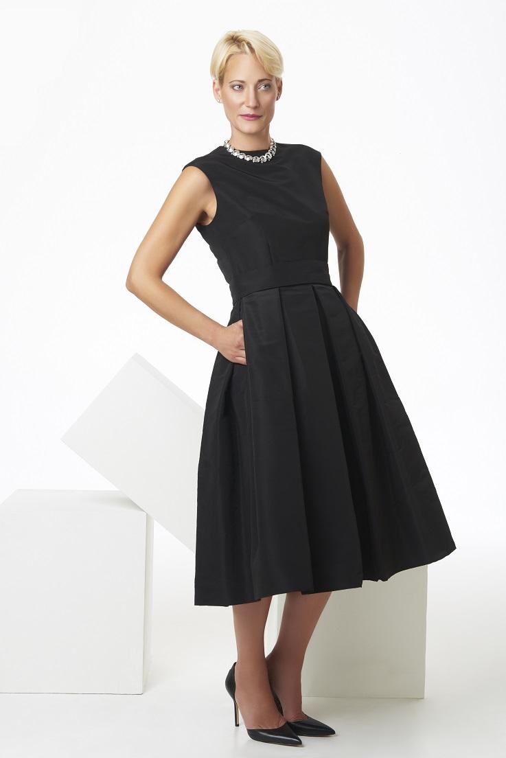 Silk+faille+tea+length+box+pleat+dress.jpg
