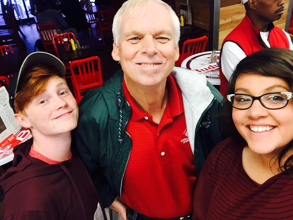 Avery, Pat, and Brandy.
