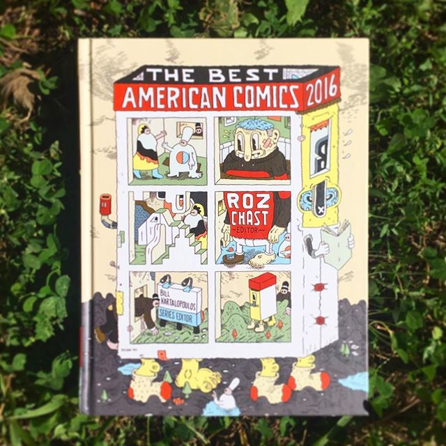 Best American Comics 2016 is out today and I am super crazy honored to be included! Dream come true 🌟#comic #bestamericancomics