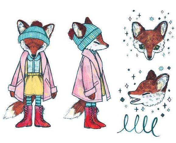 another animal friend 🦊 #art #illustration #fox