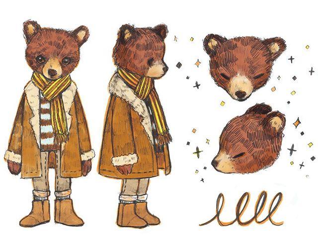 honey bear 🐻 🍯 #art #illustration #bear #sketchbook