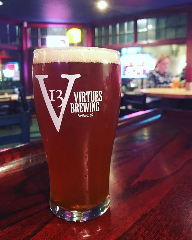 #newyear #newbeer 13 Virtues Amber now on tap!