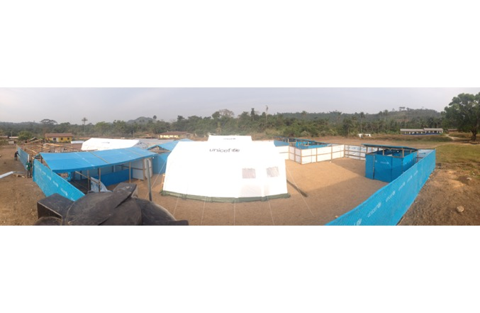 Decentralized Ebola Center