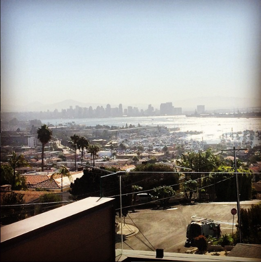 San Diego! Courtesy of Megan Wasserman