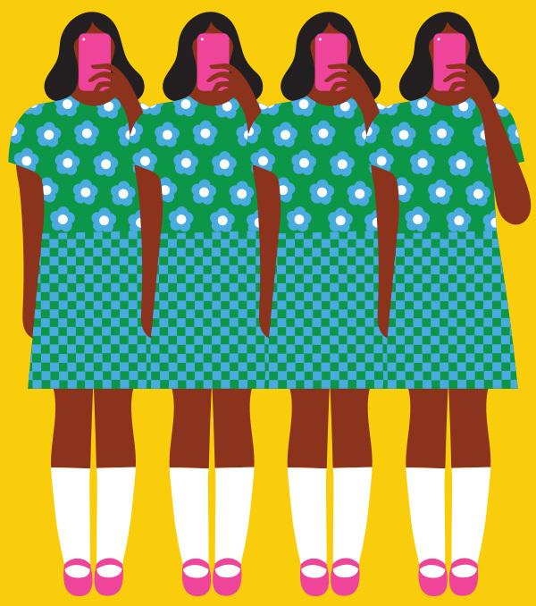 Illustration by  Olimpia Zagnoli for   La Repubblica