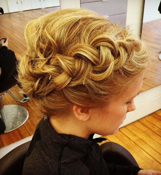 Braided Updo by Alli Carter.