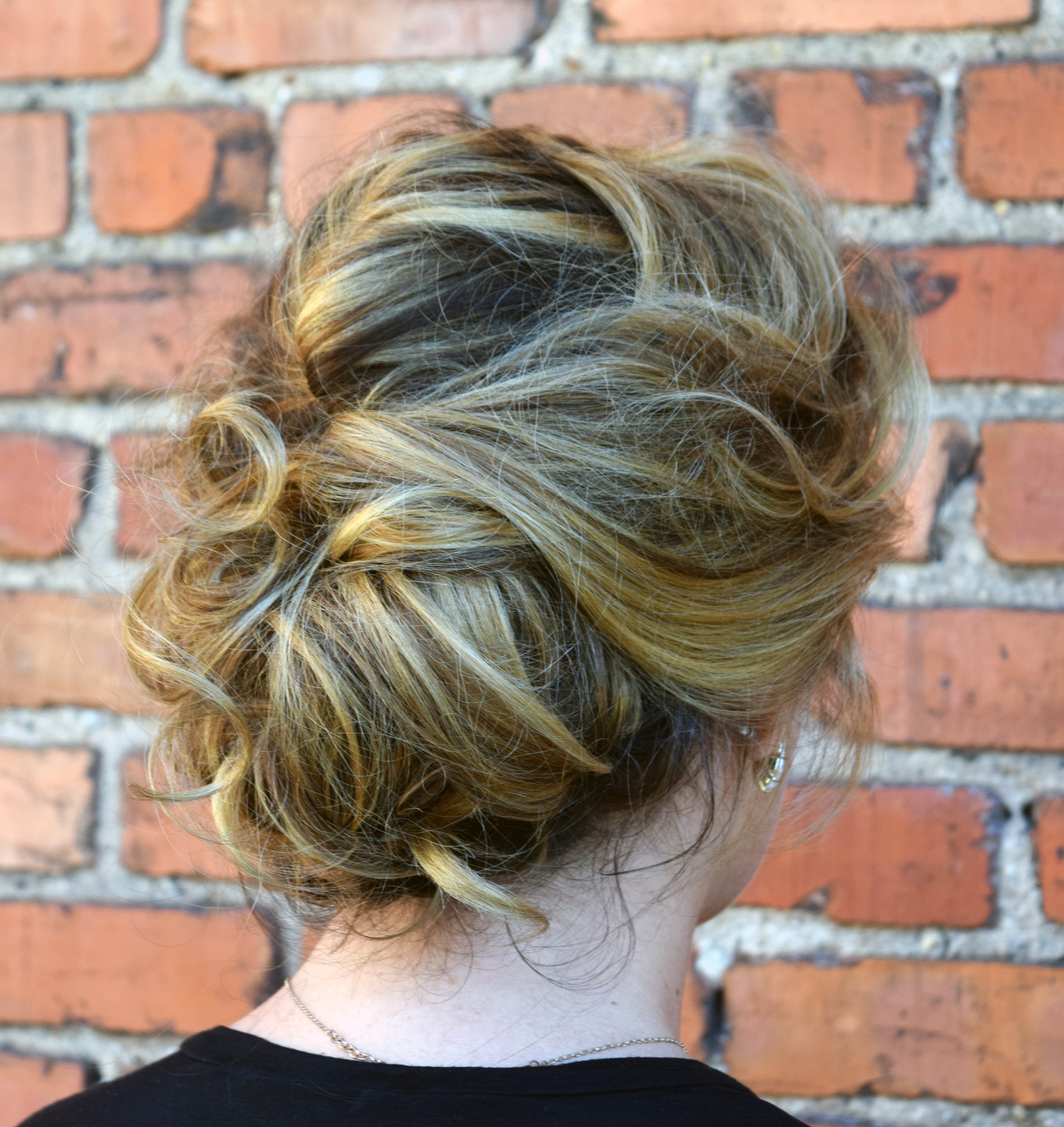Formal Updo Hair Style at Alter EGO Blow Dry Bar.