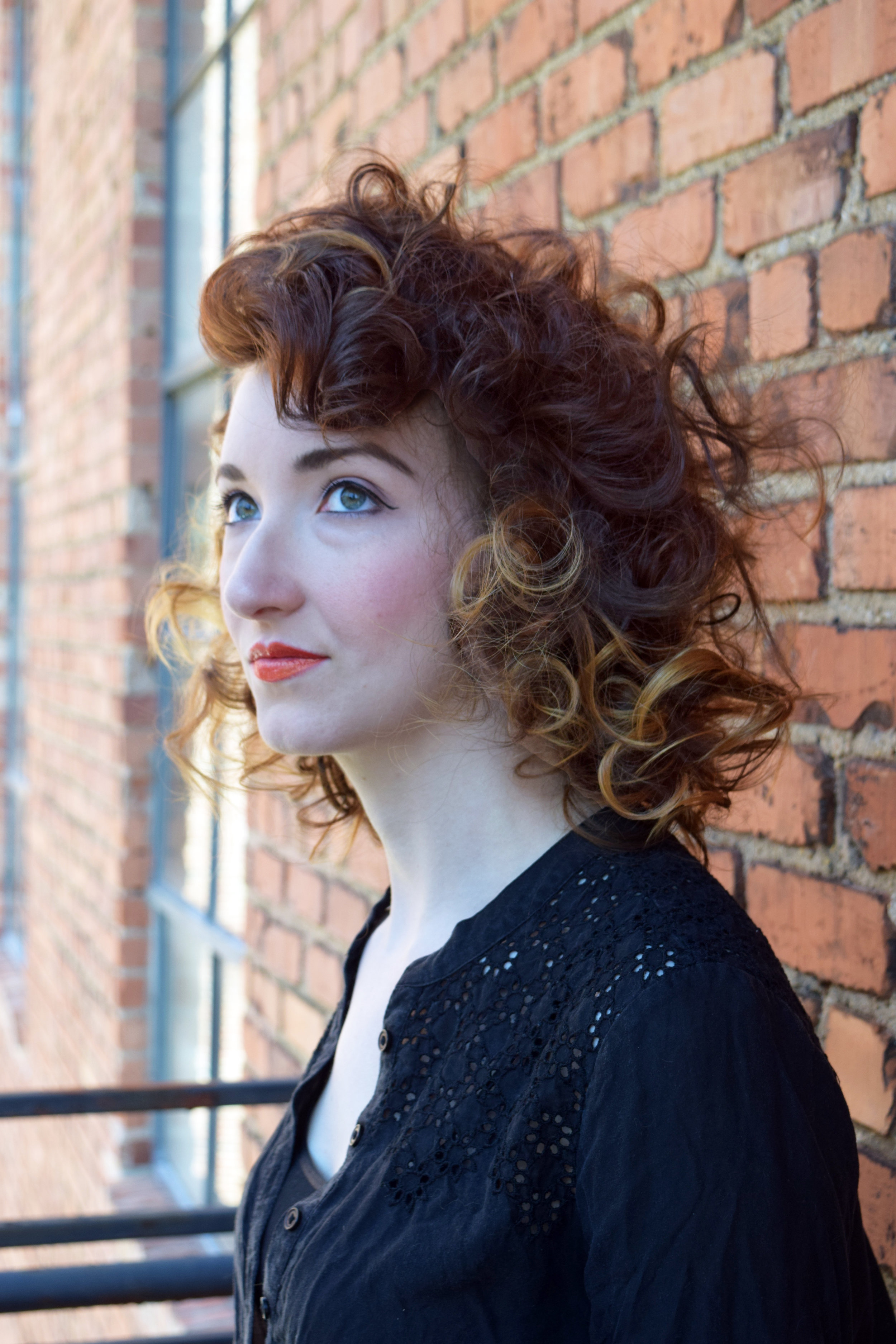 Glamorous curls in this hair style at Alter EGO Blow Dry Bar.