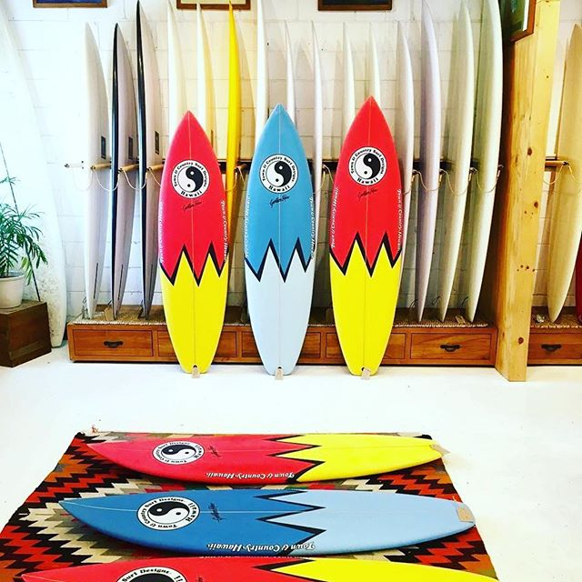 A sneak peak at some of the new @tandcaloha board range manufactured by @onboard_store lookin sharp. 🌀🌀🌀☯️☯️☯️🌀🌀🌀