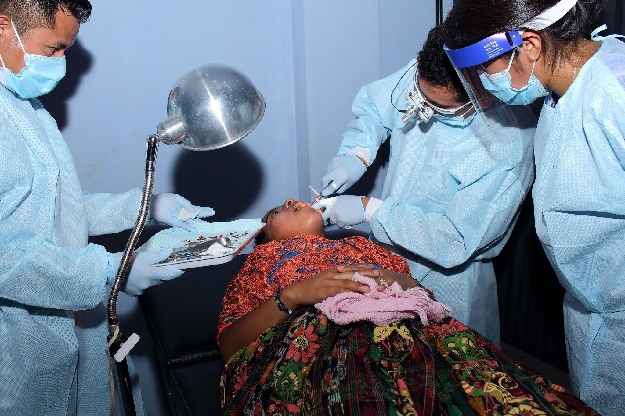 The Medical and Dental part of the Project was taking place at the same time.