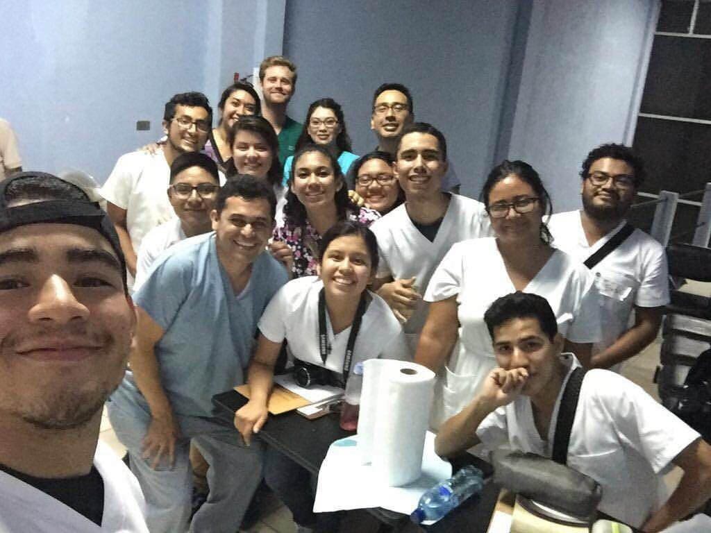 Special thanks to these dedicated students from the University of San Carlos Medicine and Dental colleges.