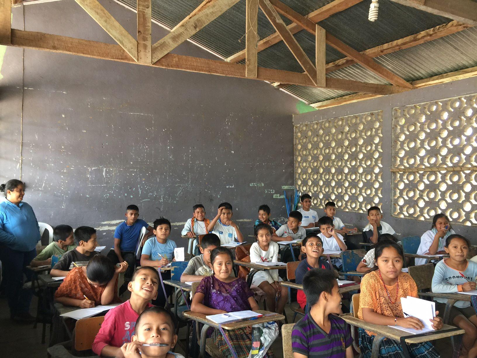 Elementary School in Tzalamtun, Cahabon.