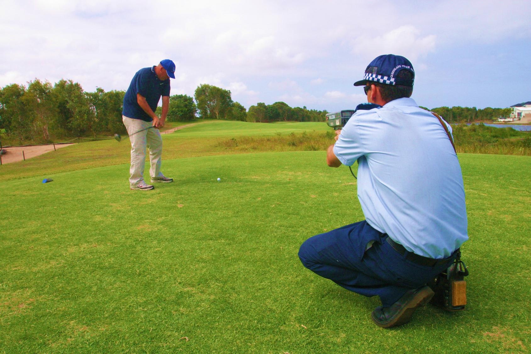 Golf Day | Speed Detector Activity