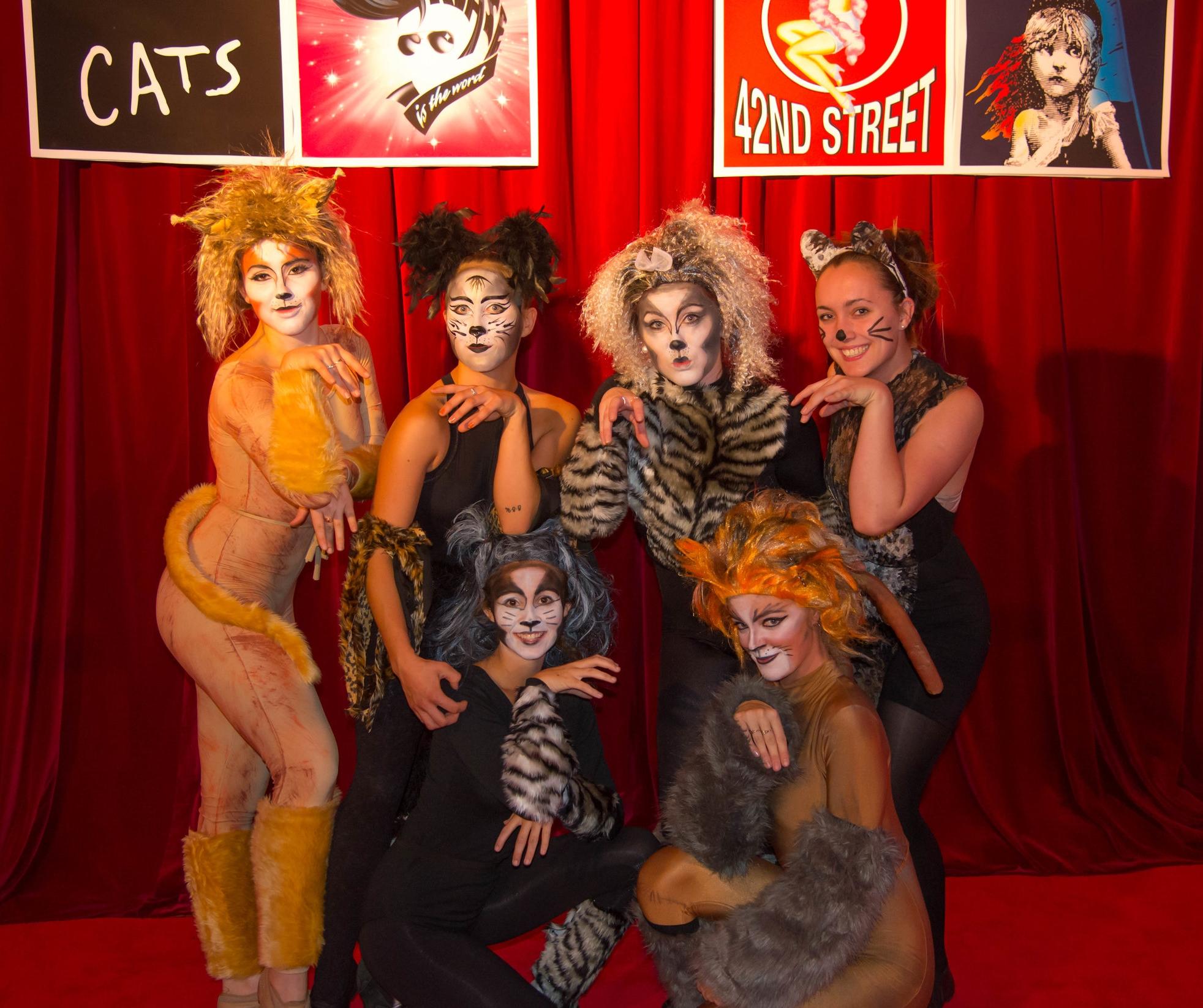 Cats Broadway Entertainment | RACQ Careflight Gala Ball