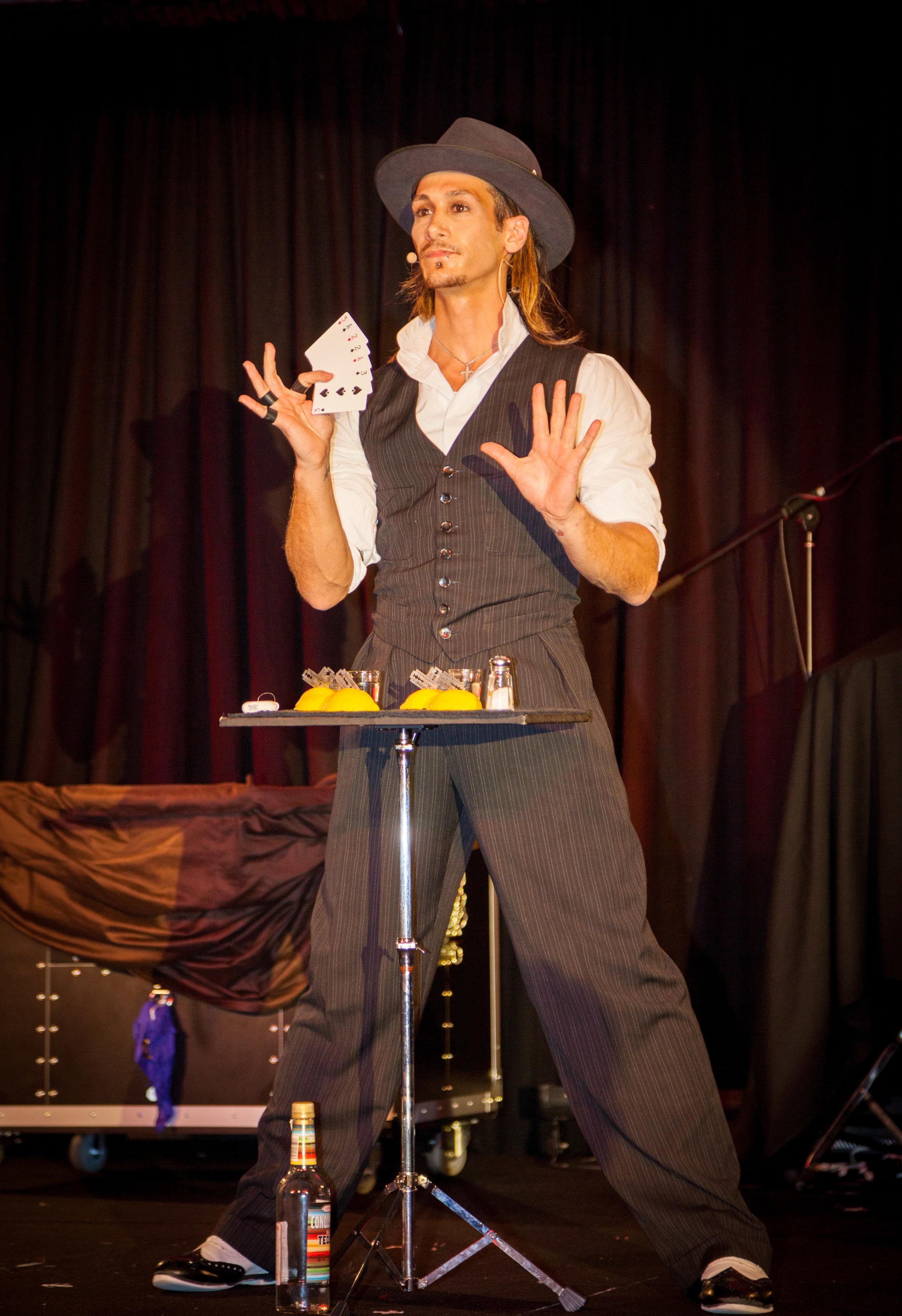 Magician Cosentino at RACQ Lifeflight Gala Ball