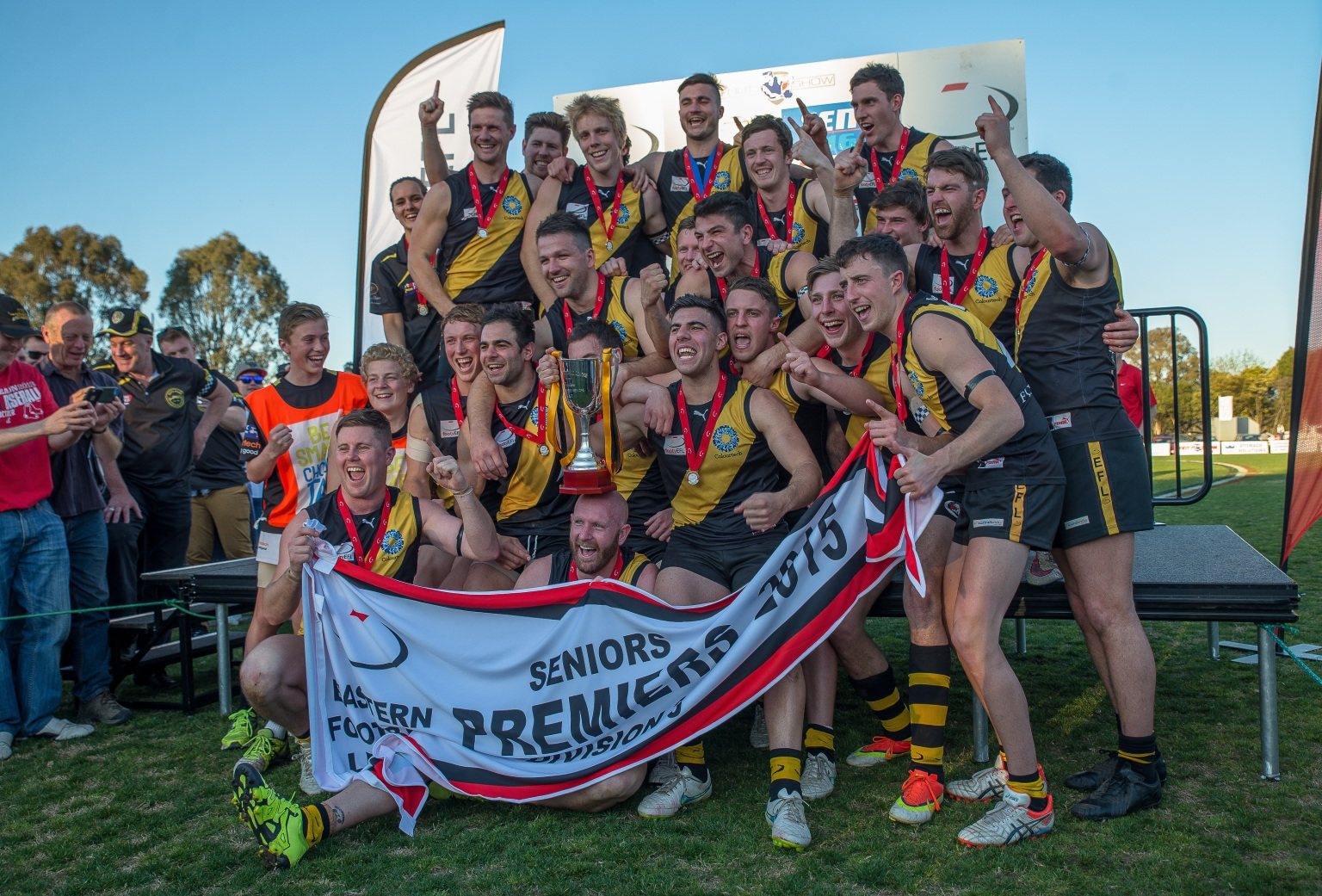 Mitcham Football Club Senior Premiership, 2015 worked with us for the whole pre-season and in-season which included some top up conditioning leading into the finals series.