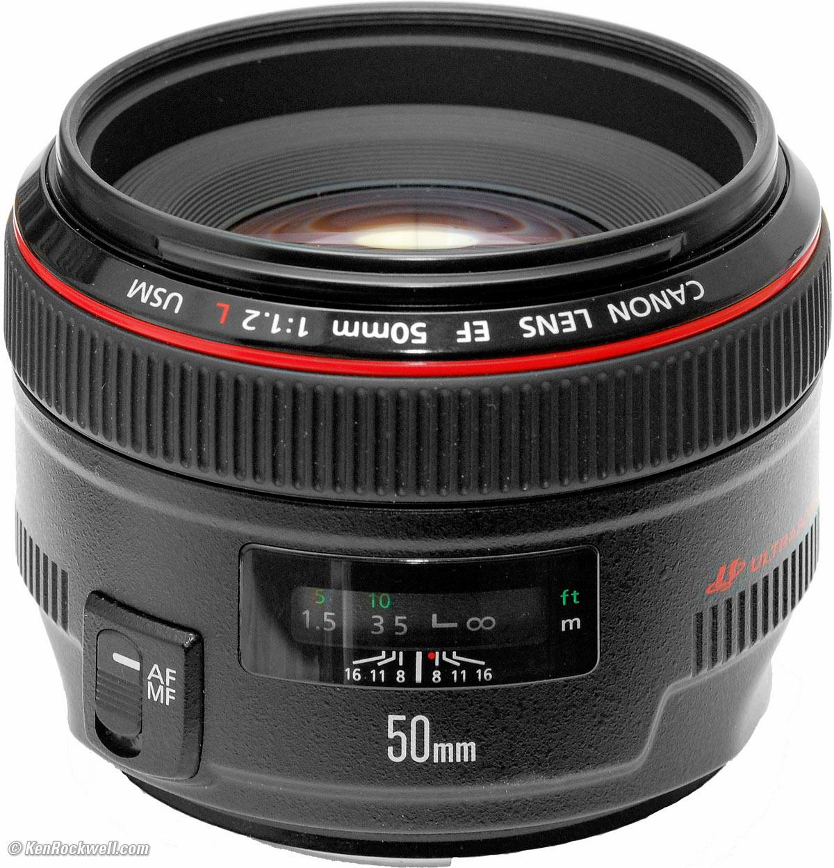 Canon Lens EF 50mm - F/1.2 L USM