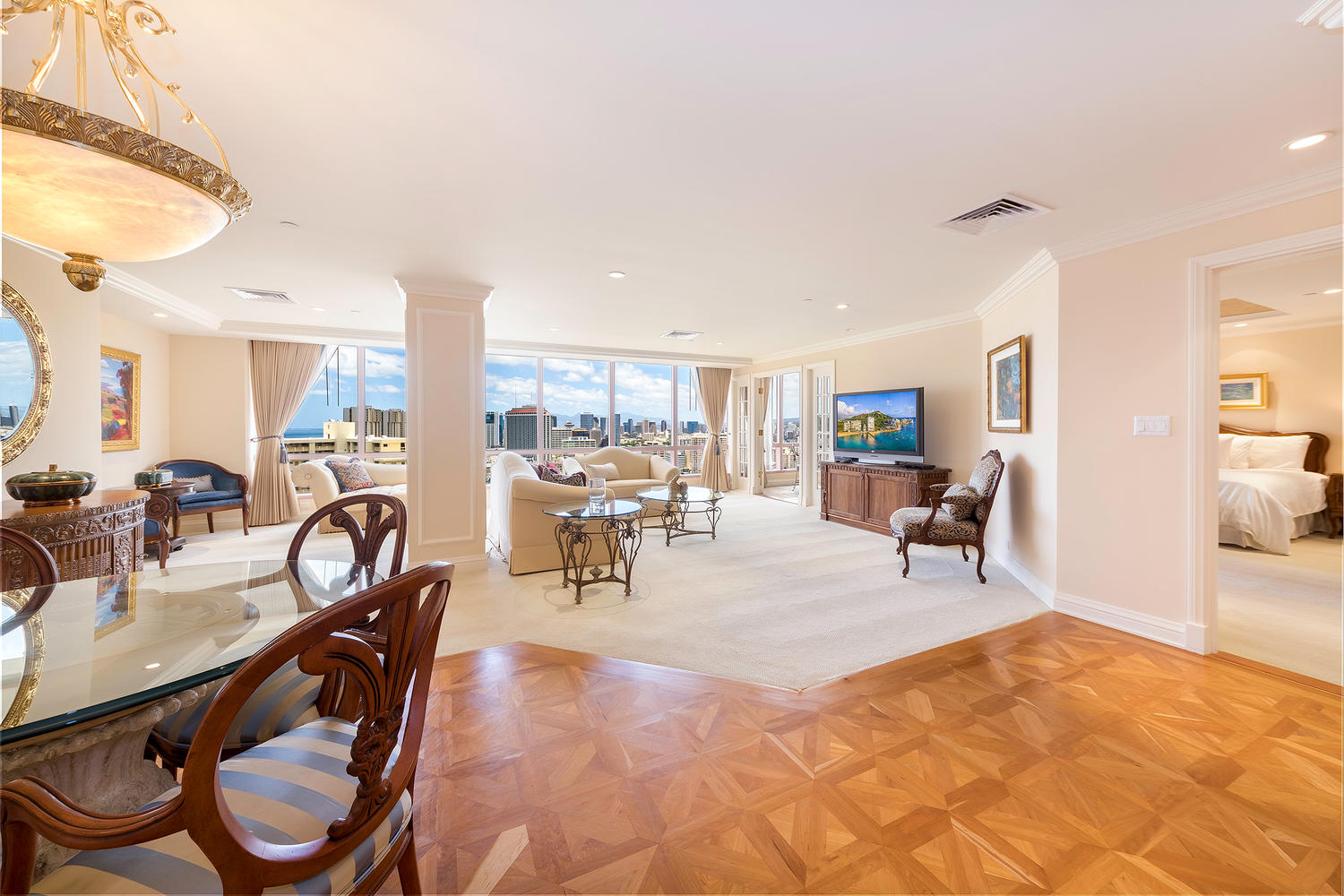2 BDS LUXURY PENTHOUSE   $13,500 / monthly - Contact us for special rates  FURNISHED  2 BEDROOMS  2 FULL BATHS  2,015 sq. ft.  Hawaii State License #: GE-197-531-0336-02, TA-197-531-0336-01