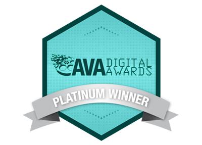 Ava Platinum Award Winner