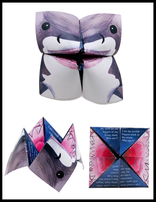 Shark Riddle Teller