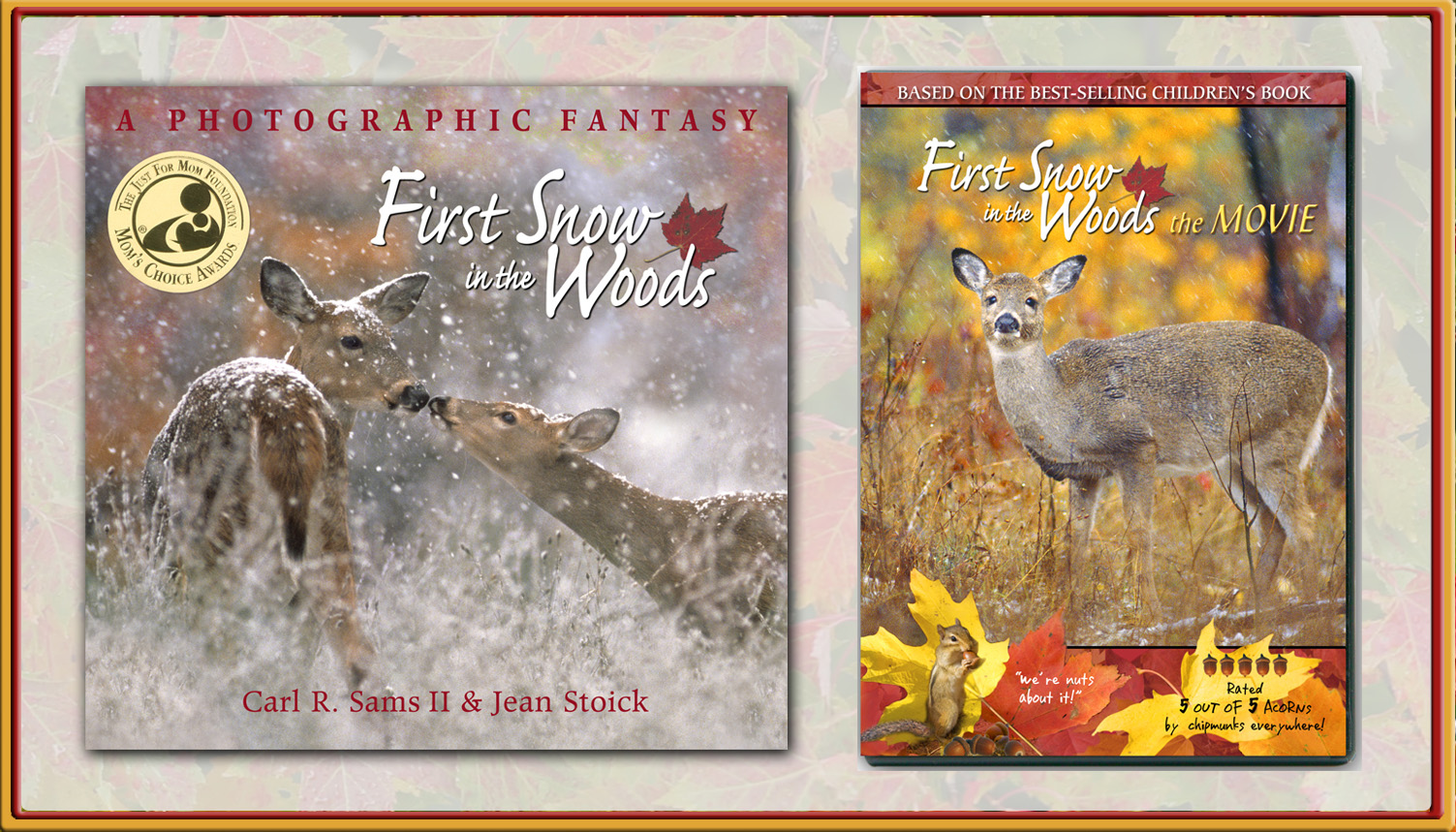 First Snow in the Woods, the book and DVD