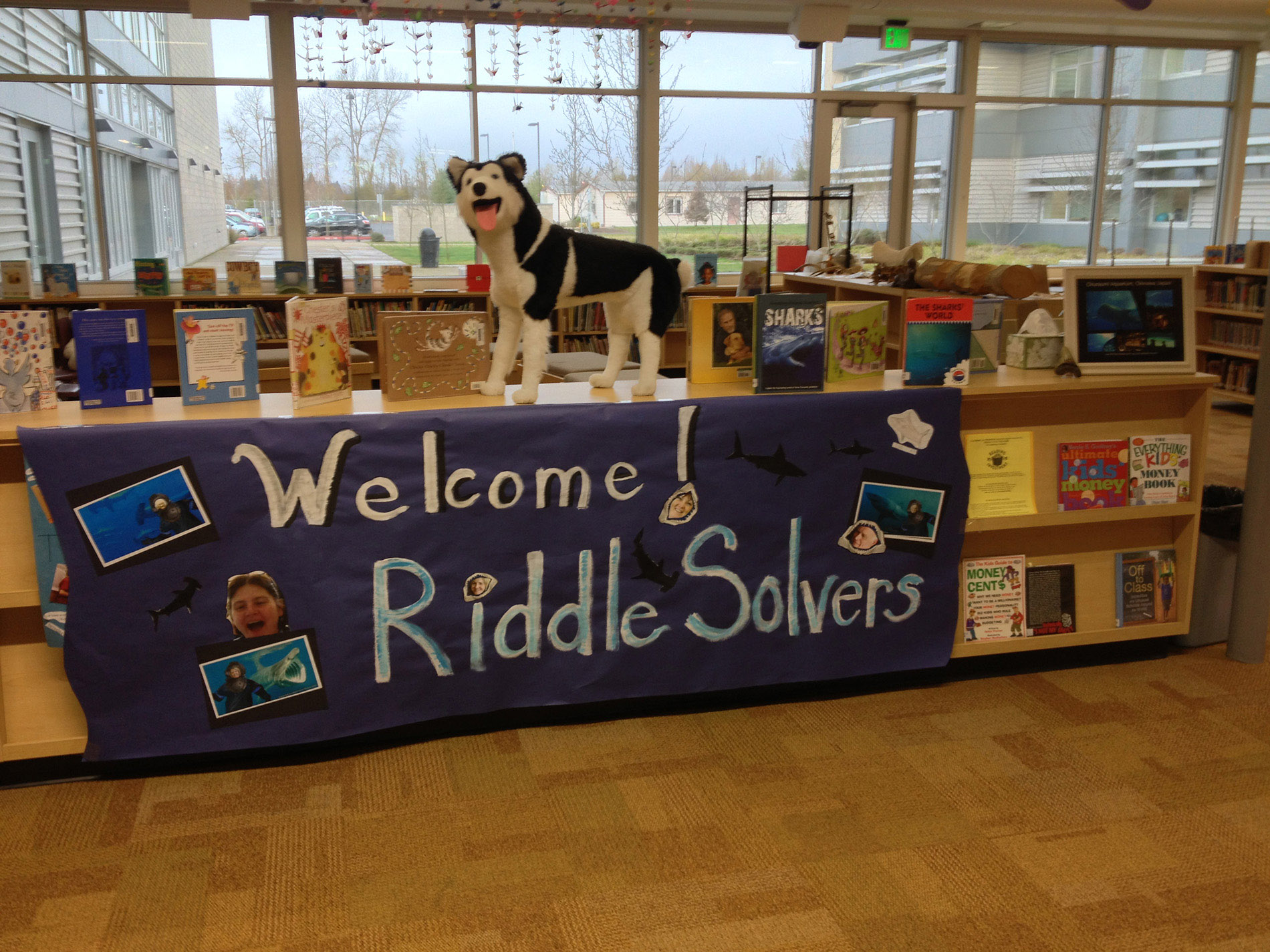 Welcome Riddle Solvers