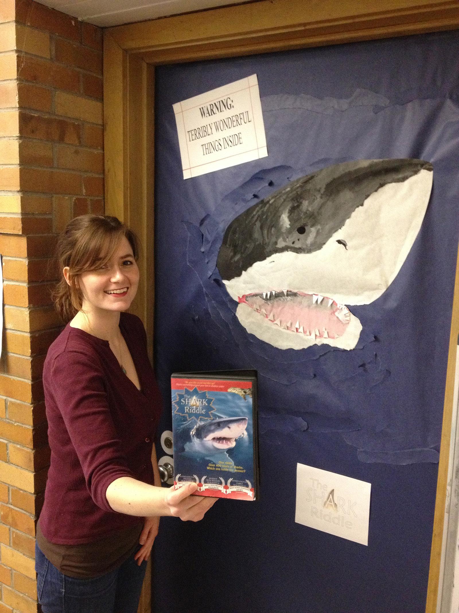Shark Riddle Door