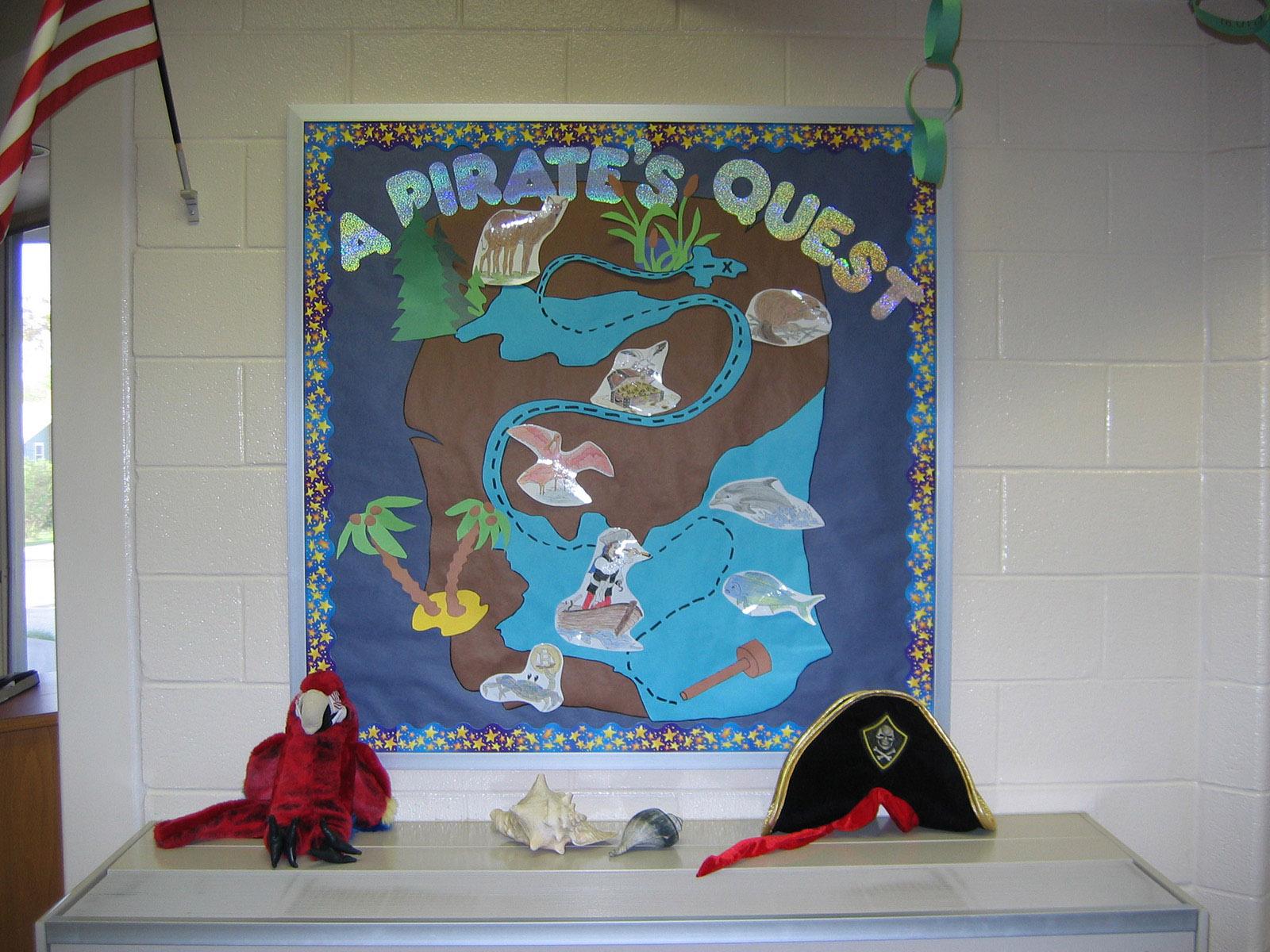 A Pirate's Quest Bulletin Board