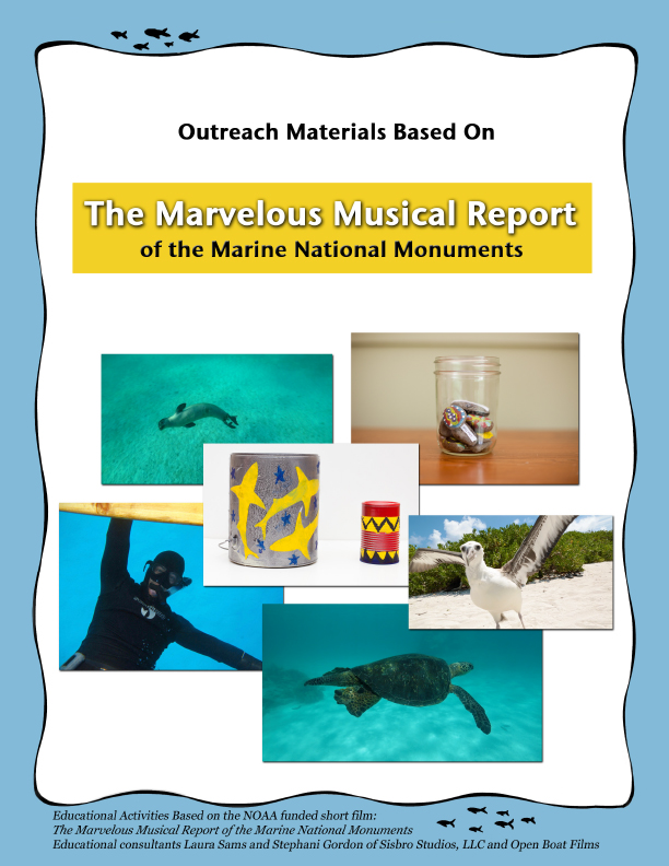 Click on the image to download this free packet of educational activities about The Marine Naitonal Monuments, based on the movie!