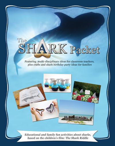 Shark Packet of Activities, Games and Projects for Kids