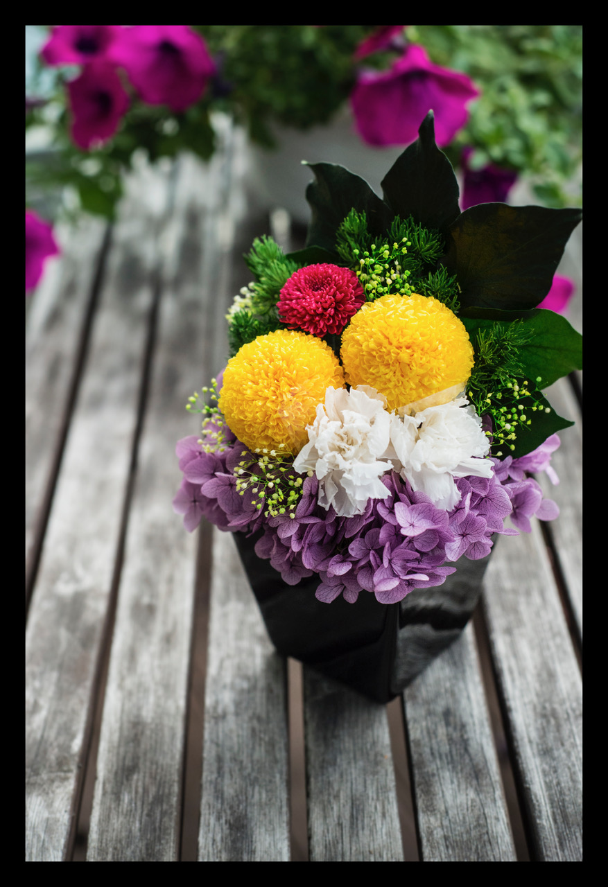 Memorial flower 仏花