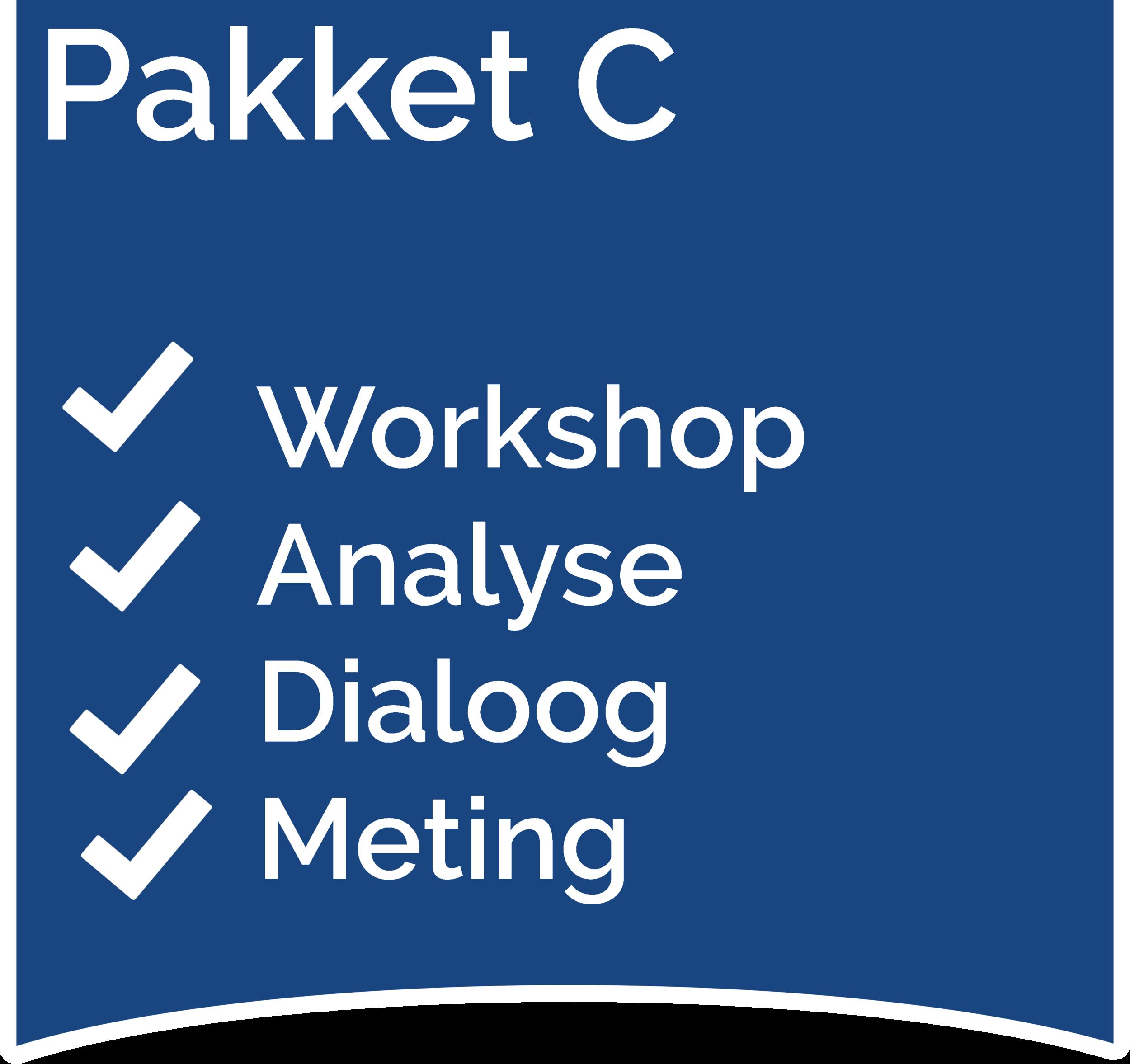Medewerkersdialoog Workshop, Analyse, Dialoog en Meting