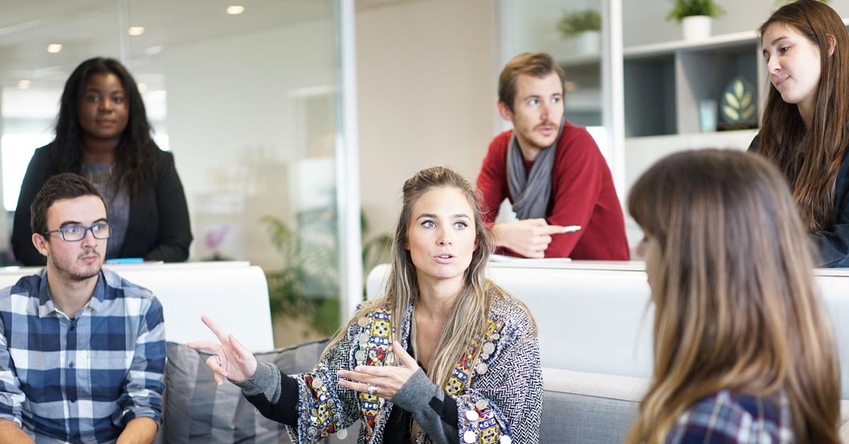 Onderlinge communicaties binnen grote organisaties