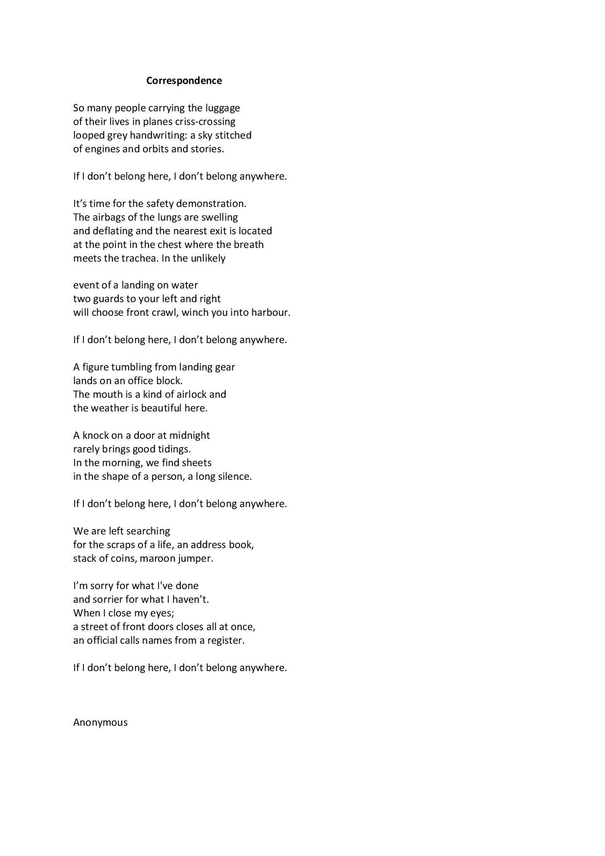 39. Anonymous Poet