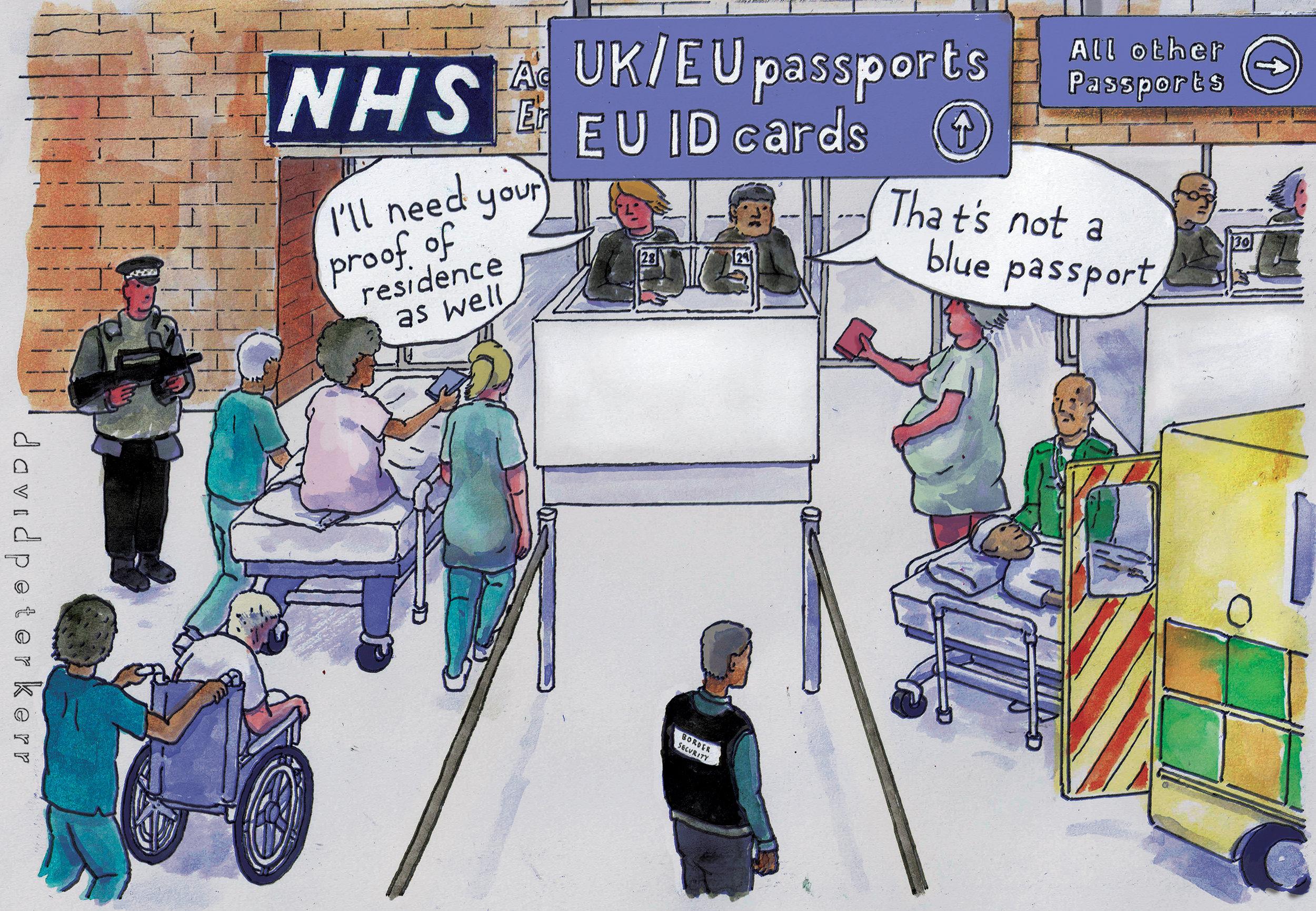 94. Docs Not Cops (illustration: David Kerr)