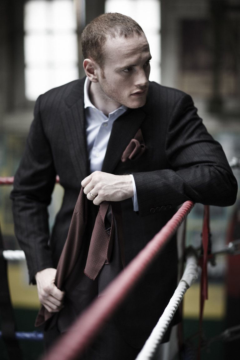 GEORGE GROVES, BOXER