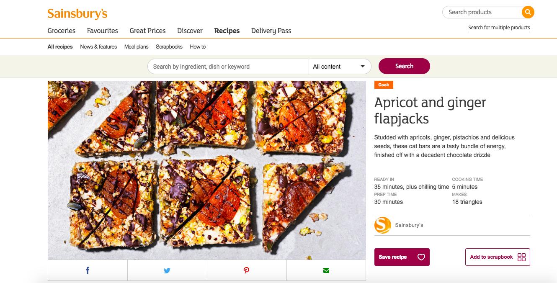 Publication: Sainsbury's online  Photographer: Jonny Kennedy  Food stylist: Sian Davies  Recipe:  HERE