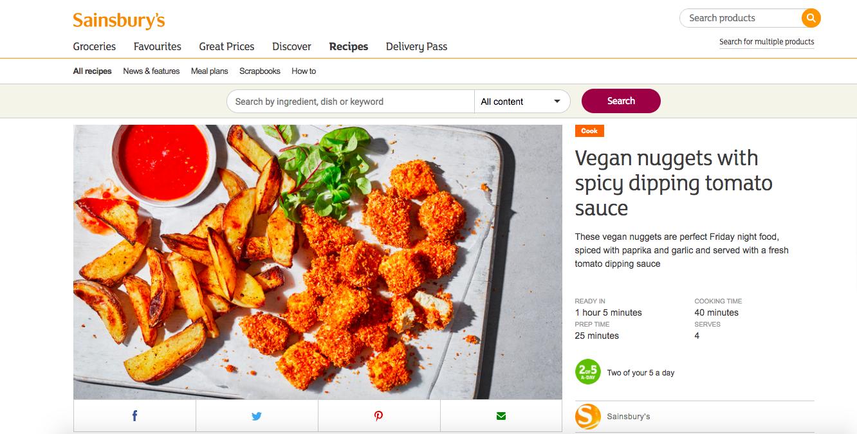Publication: Sainsbury's online  Photographer: Stuart Ovenden  Food Stylist: Sian Davies  Recipe:  HERE