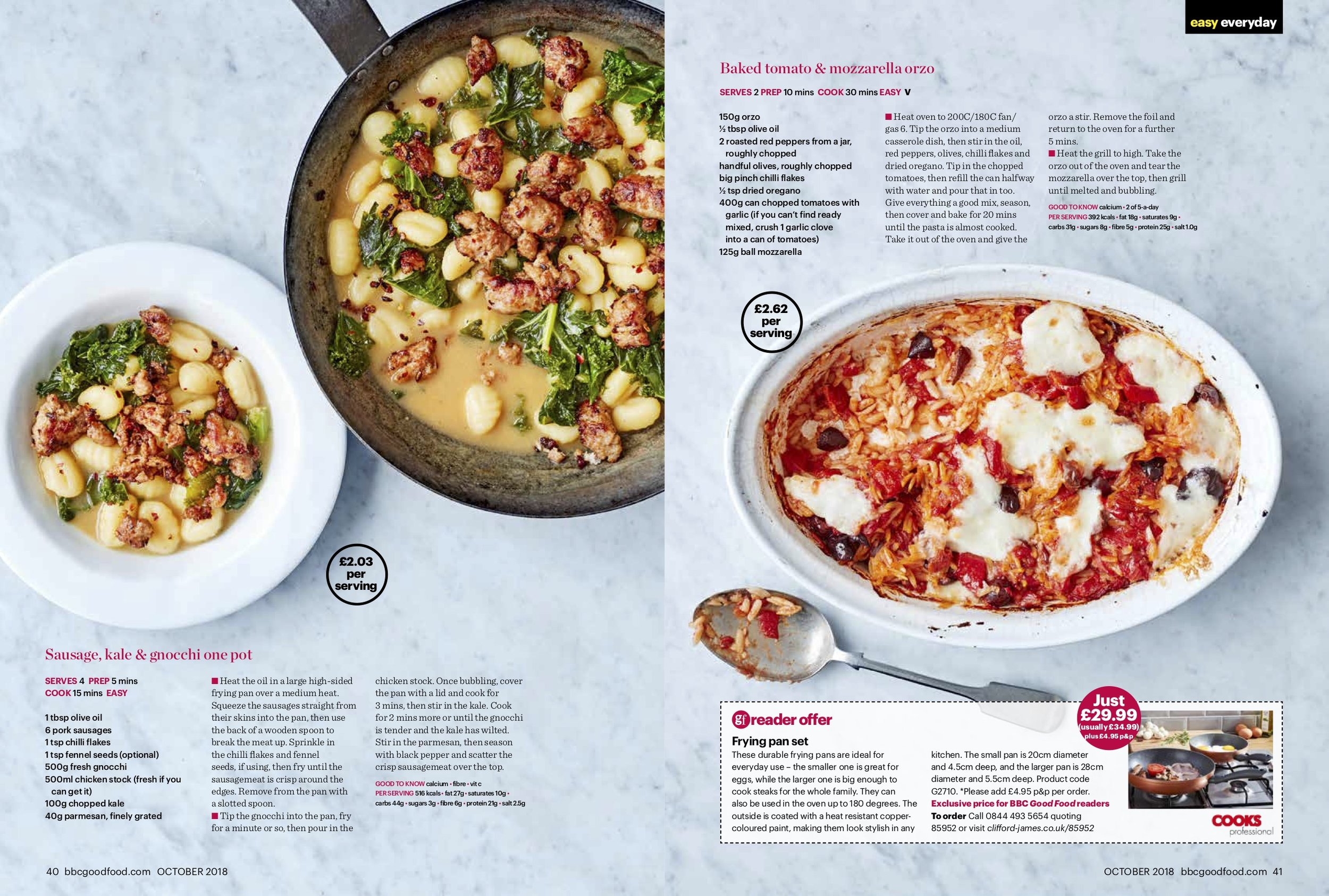 Publication: BBC GoodFood Magazine, October 2018  Photographer: Stu Ovenden  Shoot director: Andrew Jackson  Props stylist: Victoria Eldridge  Recipe: Sophie Godwin