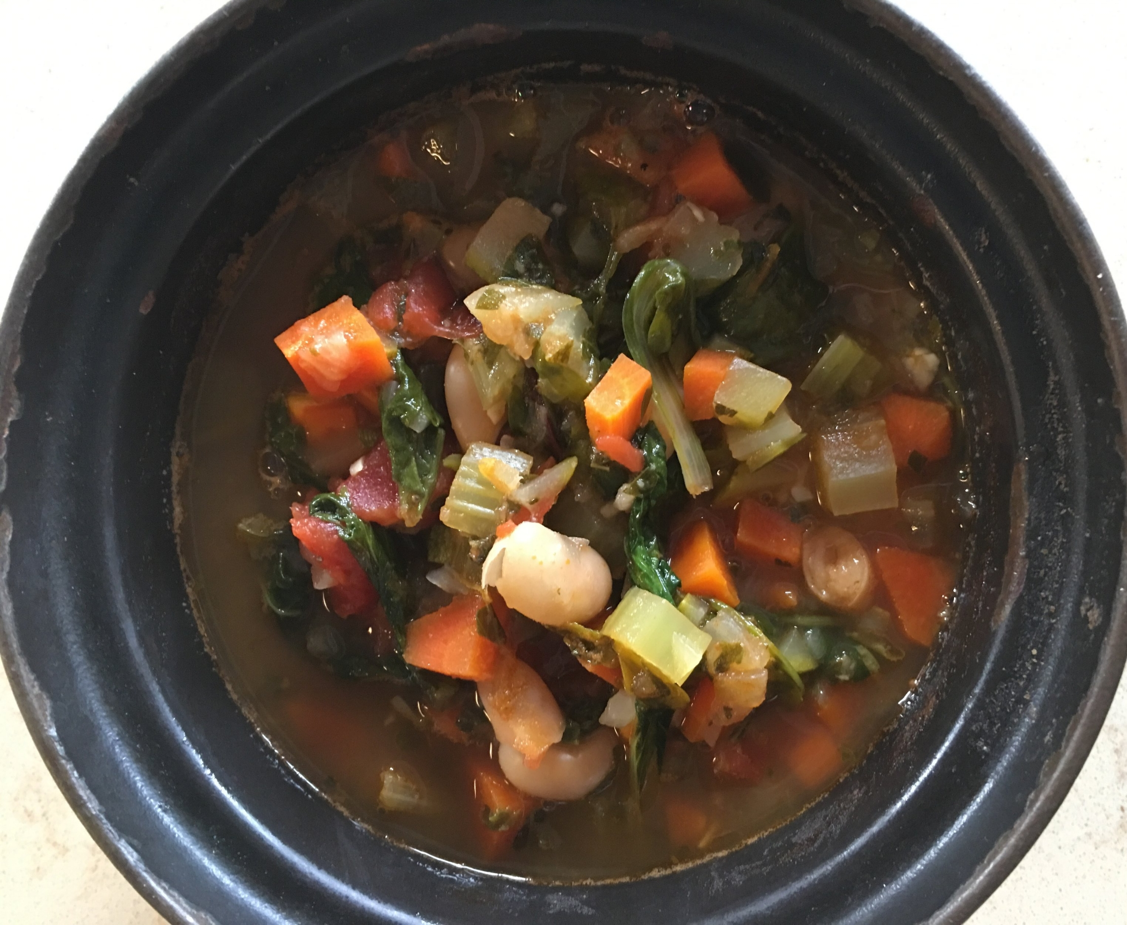 Herby tuscan bean and vegetable soup.JPG