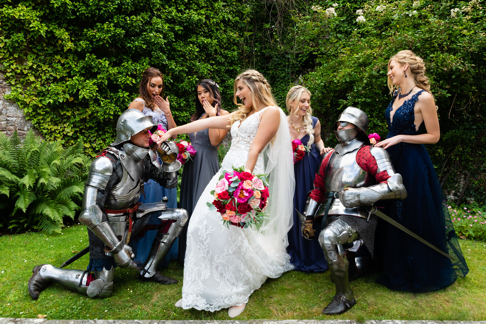 thornbury-castle-wedding-the-planning-lounge -tudor-knights