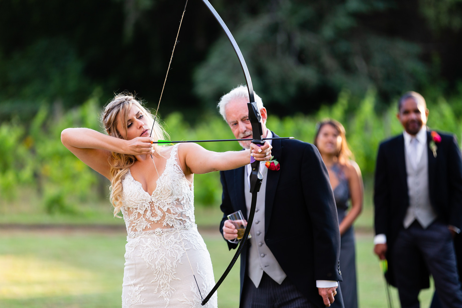 thornbury-castle-wedding-the-planning-lounge -archery