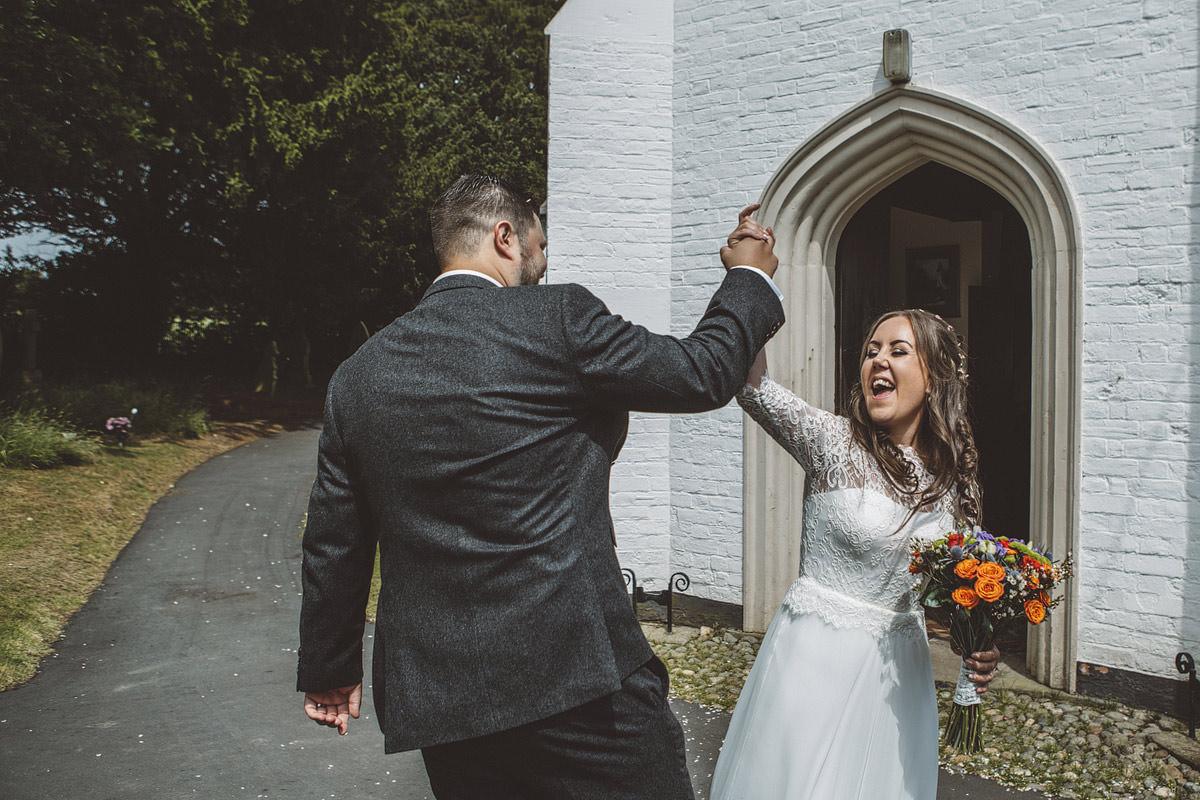 Cholmondeley Arms Tipi Cheshire Wedding Photography - 15.jpg