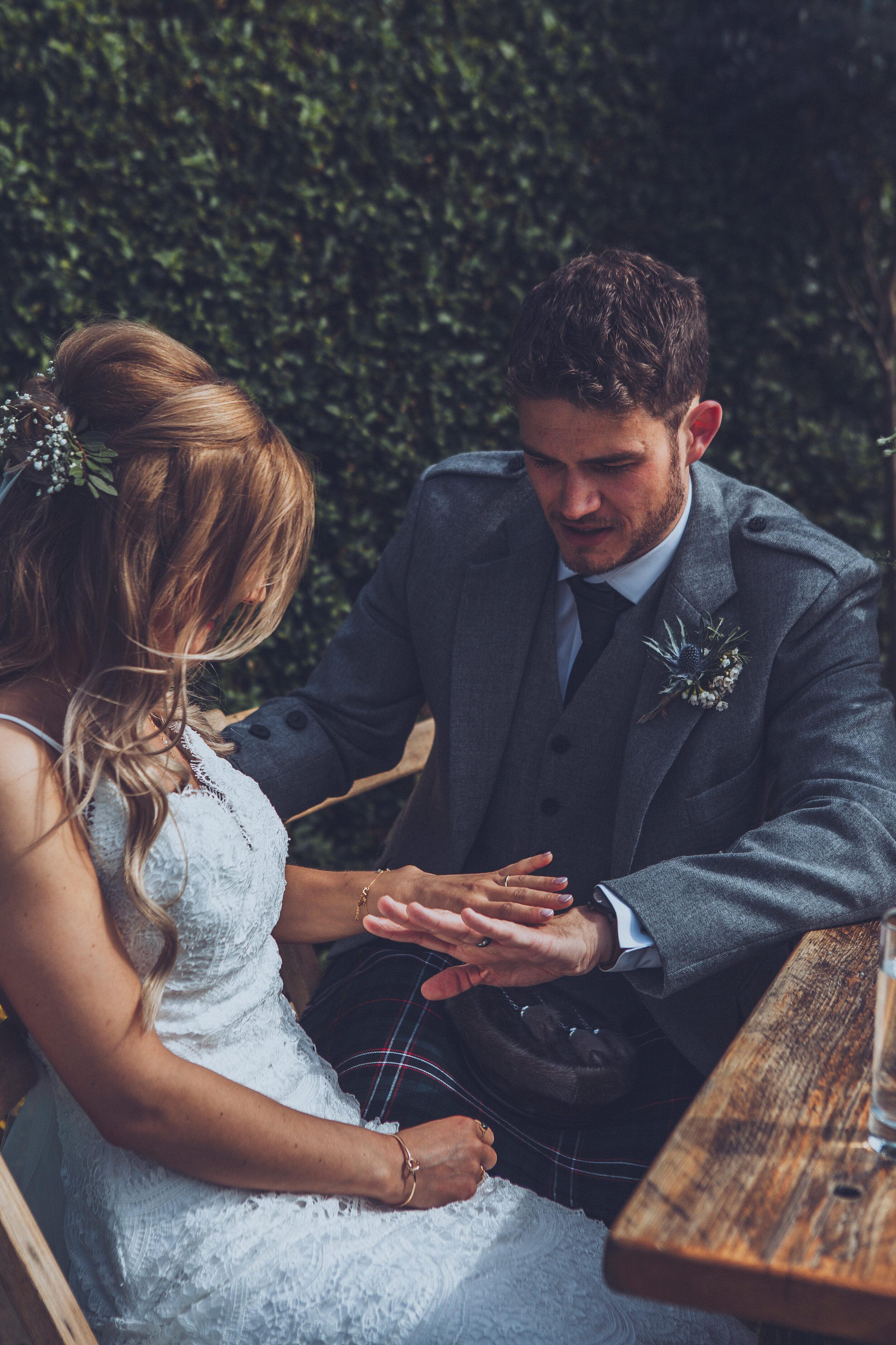 Dalduff Farm Ayrshire Wedding Photography - Claire Basiuk Photographer - 11.jpg